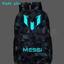 Teenage girls gifT online shopping - NEW HOT sale Logo Messi Backpack Bag Men Travel shoulder bag Gift Kids Bagpacks Teenage Girl Backpacks boy schoolbag