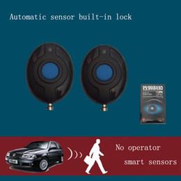 Discount alarm engine - 12V Car Clarm System Keyless Entry Car Engine Auto Remote Central Locking Push Remote Alarm With Auto Start Button Start