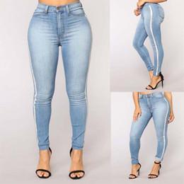 9c6061c385 2018 Nuevo Solid Wash Skinny Jeans Mujer Pantalones de mezclilla de  invierno de cintura alta Tallas grandes Empujar hacia arriba Pantalones  Bodycon lápiz ...
