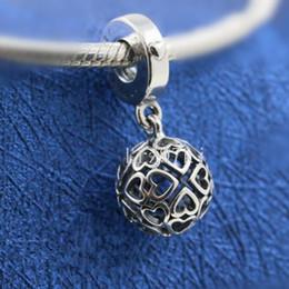 $enCountryForm.capitalKeyWord NZ - 2018 Mother's Day 925 Sterling Silver Harmonious Hearts Hanging Charm Bead Fits European Pandora Jewelry Bracelets Necklaces & Pendants