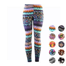 Whites Trousers For Women NZ - Wulekue Digital prints Leggings For Women Casual Elasticity Skinny Printed Stretchy Pants Leggings Trouser legins calzas mujer