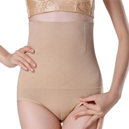b09b6d3db2d8f Women High Waist Shaping Panties Breathable Body Shaper Tummy Control  Panties Slimming Tummy Underwear Trainer Underpant Knickers NW880760