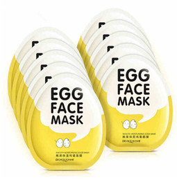 Discount korean beauty mask - Wholesale New Arrival Egg Beauty Care Face Mask Moisturizing Wrapped Mask Maquiagem Korean Cosmetics For Women
