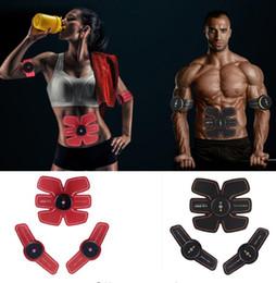 Stimulateur ABS Rechargeable Électrique Intelligente EMS Trainer ABS Musculaire Exerciseur Muscles Intensif Formation Fitness Minceur en Solde