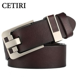 $enCountryForm.capitalKeyWord Canada - Top Quality Cowhide Genuine Leather Belts For Men Brand Strap Men's Leather Casual Pin Buckle Belt Man Cowboy Jeans Cintos