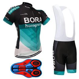 2658e6ecf summer 2018 team BORA cycling jersey MTB uniform bike wear clothes Ropa  Ciclismo pro cycling clothing mens bib shorts set