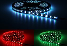 $enCountryForm.capitalKeyWord NZ - 5050 RGB LED Strips DC12V 5M 300 LEDs Fleixble Neon Lamp string lights + 17Keys RF Remote Controller + 12V 3A Power Supply LLFA