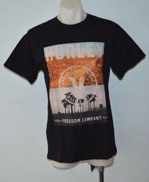 Custom Print T Shirt Cheap Australia - Tops wholesale Tee custom Environmental printed Tshirt cheap Hurley Mens Printed T Shirt - BLACK - SIZES NEW Fashion Style Men Tee