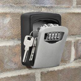 $enCountryForm.capitalKeyWord NZ - Outdoor security password key box padlock box decoration home wall - mounted company metal password storage