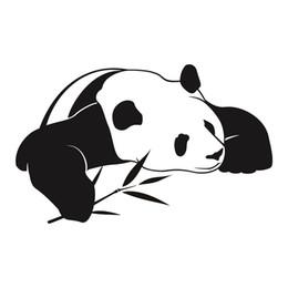 $enCountryForm.capitalKeyWord UK - Panda Wall Stickers Cute Animal Wall Decals Art Painting Wall Stickers Vinyl Decor Decals