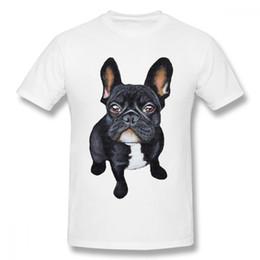 33134824b Unique Shirts For Men UK - Classic Round Neck French Bulldog T Shirt Men  Hot Sale