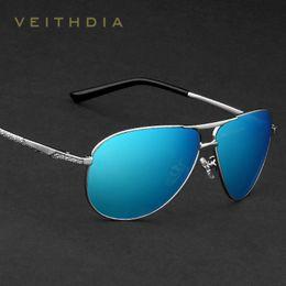221e425040 VEITHDIA Brand Classic Fashion Men s Sunglasses Polarized Mirror UV400 Lens  Eyewear Accessories Sun Glasses For Men Women 2556 D18101302