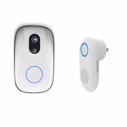 Discount remote video cameras - Waterproof WIFI Video Doorbell Wireless Smart Doorbell Security Camera Night Vision Visual Doorphone Phone Remote Viewer