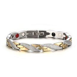 $enCountryForm.capitalKeyWord NZ - Drop shipping brand new top quality unisex 316L stainless steel bracelet magnets bracelets hematite fashion jewelry factory supplier 092