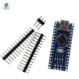 Großhandel 1pcs / lot Nano 3.0 Controller kompatibel für Arduino CH340 USB KEIN KABEL