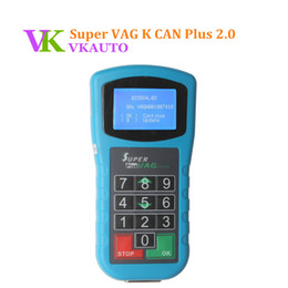 Discount vag k can - New VW Key Programmer Super VAG K CAN Plus 2.0 Odometer Programmer Diagnostic Scanner