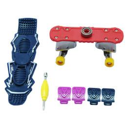 Finger skateboard games online shopping - Children Toy Intelligence Mini Finger Skate Boarding Spinner Game Learning Education Gift Skateboard Decompression Toys dq W