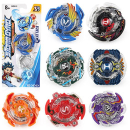 Chinese  2018 new US burst Beyblade toy BB812 alloy battle gyro student anime peripheral single gyro game manufacturers