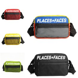 PLACES + FACES Pack Fanny Travel Pochette Sport Skateboards Homme Femme Sac Bandoulière Plein Air Message Sacs Mini Mobile Téléphone Packs Sac De Rangement