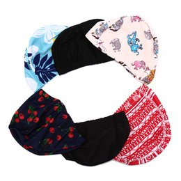 598cb2ffbbb Adult Kids Elastic Swimming Caps Waterproof Protect Ears Long Hair Soft  Bathing Hat Summer Beach Swim Cap