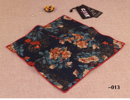 $enCountryForm.capitalKeyWord NZ - Top Brand Men's cravat scarf Handkerchiefs for Women Cotton Pocket Square Small Hankies Men Square Pockets Hanky Handkerchief for Suits Ties