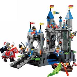 $enCountryForm.capitalKeyWord Canada - Enlighten Castle Series Medieval Castle Knight Pagoda Carriage Model Building Blocks Sets