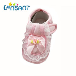 $enCountryForm.capitalKeyWord NZ - LONSANT Toddler Kids Baby Girls Spring Autumn Shoe Princess Lace Bowknot Rose Flower Newborn First Walking Shoes