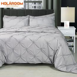 $enCountryForm.capitalKeyWord Canada - 3D Bedding Set Solid Color Multi Size Duvet Cover Pillowcase Bed Set Beautiful Bedclothes 2pcs 3pcs Home Decoration Bedding