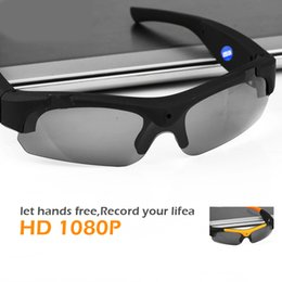 video sunglasses 2018 - FULL HD Outdoor Sport Glasses Camera Polarized Mini Sunglasses Digital Video Recorder Secret Security Camcorder Cam chea