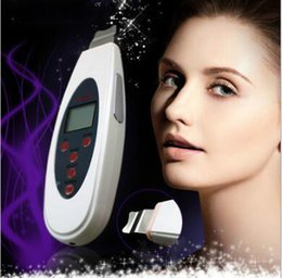 Spa facial equipment online shopping - Fashion Portable Large LCD Screen Ultrasonic Skin Scrubber Beauty Machine Peel Facial Spa Salon Equipment For Men Or Female