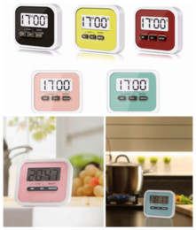 Stand alarm clock online shopping - Digital Kitchen Count Down Up LCD Display Timer Clock Alarm With Magnet Stand Clip For Cooking Barking DDA587