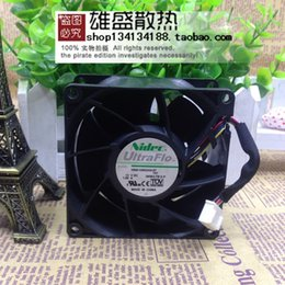 nidec fans 2019 - Nidec V80E12BS2A5-57 T07 Server Square Fan DC 12V 1.95A 80x80x38mm 4-wire discount nidec fans