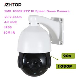 Ptz Cameras Canada - 4.5 inch Mini HD IP Speed Dome Camera CMOS 2MP 1080P 20xZoom 80M IR IP66 Outdoor PTZ Network Dome Camera