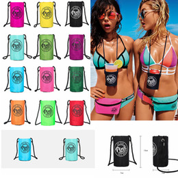 Wholesale 12styles Pink Letter Bottle Cover Holder Outdoor Protable Cup Holder Carrier Travel Carrier bolltle Case Cycling Carrier Bags FFA965