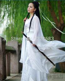 $enCountryForm.capitalKeyWord NZ - Lady Womens Hanfu Sexy Costume Ancient Chinese Dragon Fairy Costumes Quality Chiffon Clothing Cosplsy Set