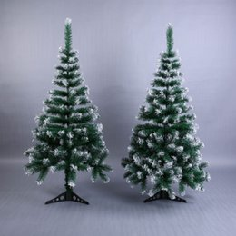 Discount new year desktop - Artificial Flowser Christmas Tree Snowflake Xmas Plastic Tree 120cm New Year Home Ornaments Desktop Decorations Christma