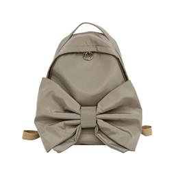 $enCountryForm.capitalKeyWord UK - Japanese Campus Travel School Bag Cute Bow Girl Canvas Backpack 2018 Large Capacity Sweet Sister Casual Daypack mochilas S823