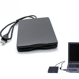Wholesale Portable USB Floppy Disk Drive For Laptop PC Win Mac H FDD External MB Computer Accessory
