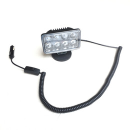 "China 4"" 40w Spot led magnet Car roof spotlight headlight Offroad 4x4 ATV UTV SUV Truck headlamp Crane Forklift Emergency work light suppliers"