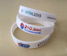 $enCountryForm.capitalKeyWord NZ - Custom Conference Meeting Exhibition Promotion Silicone Wristband Logo Multi Color Screen Print racelet