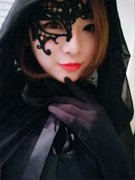 $enCountryForm.capitalKeyWord Australia - Sexy Lady Mask Lace Halloween Masks Lovely Party Venetian Masquerade Decorations Half Face Lily Woman Mardi Gras Masks Disco