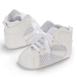 $enCountryForm.capitalKeyWord NZ - PU Leather Baby Sports Sneakers Newborn Kid Fashion Shoes Girl Boy High Top Indoor walker Toddler Infant Children Cool Footwear
