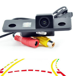 camera tracking NZ - Dynamic Trajectory Tracks Car Rear View Parking Backup Camera for VW Skoda Octavia night vision waterproof