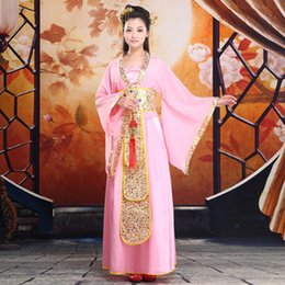 disfraces costumes 2019 - Kung Fu Uniform Special Offer Hot Sale Polyester Disfraces Dance Costumes Ancient Chinese Clothes For Women Cosplay Cost