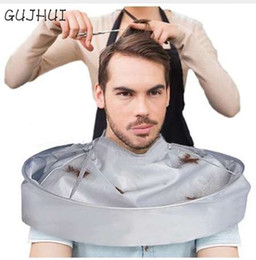 hair cutting cape hairdressing UK - DIY Hair Cutting Cloak Umbrella Cutting Styling Cloak Wrap Salon Barber Gown Cape Hairdressing Hairdresser 8612