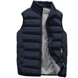 Warm stylish jackets online shopping - Vest Men New Stylish Autumn Winter Warm Sleeveless Jacket Army Waistcoat Men s Vest Fashion Casual Coats Mens XL