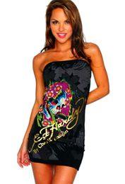 $enCountryForm.capitalKeyWord NZ - New Fashion Sexy Casual Dresses Women Summer Sleeveless Evening Party Beach Dress Short Chiffon Mini Dress ED Womens Clothing Apparel