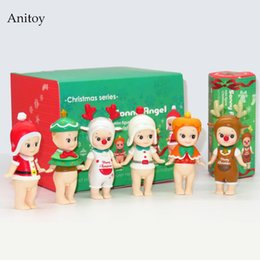 $enCountryForm.capitalKeyWord UK - oys Hobbies Action Toy Figures Sonny Angel 6pcs set Mini Christmas Series Sonny Angel Dolls PVC Action Figure Collectible Model Toy 8cm ...