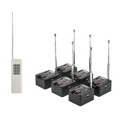 6 Cue Remote 1000M Wireless Fireworks Firing system&Wedding equipment&stage equipment from flameless candles free shipping suppliers