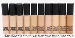 $enCountryForm.capitalKeyWord Canada - Free Shipping High quality Brand Makeup Liquid Foundation PRO LONGWEAR CONCEALER CACHE-CERNES 9ML 10pcs lot